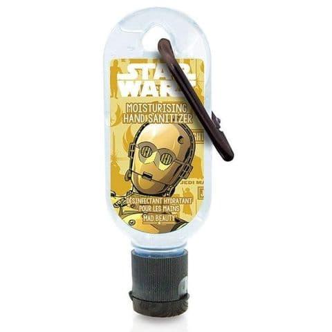 Star Wars Clip & Clean Moisturising Travel Hand Sanitizer Gel 30ml Mad Beauty