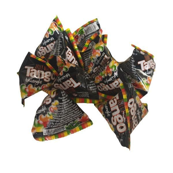 Tango Jelly Bean Sweets - Candy Pyramid Pouches Rose Confectionery 8g