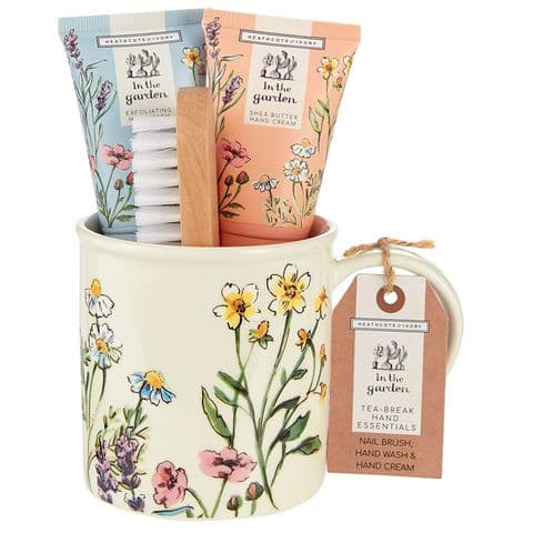 Tea Break Hand Essentials Mug Gift Set - In The Garden Heathcote & Ivory