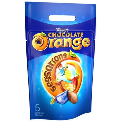 Terry's Chocolate Orange Segsations Chocolates Gift Pouch 400g