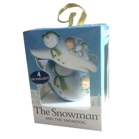 The Snowman & The Snowdog Bauble & Orange Jelly Beans Rose Confectionery 10g