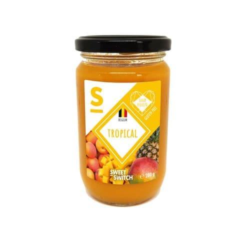 Tropical 55% Fruit Spread Diabetic Jam No Added Sugar Free Stevia Sweet Switch 280g