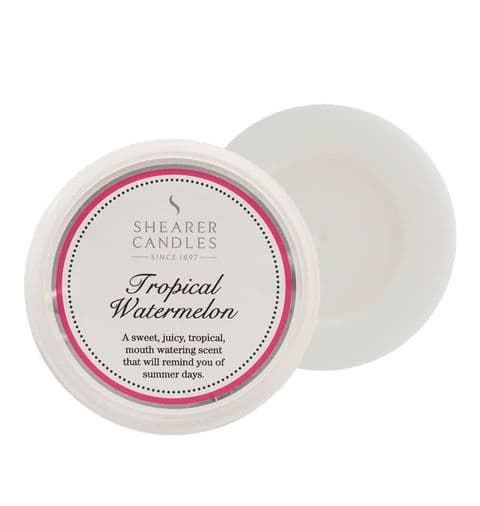 Tropical Watermelon Scented Wax Melt - Shearer Candles