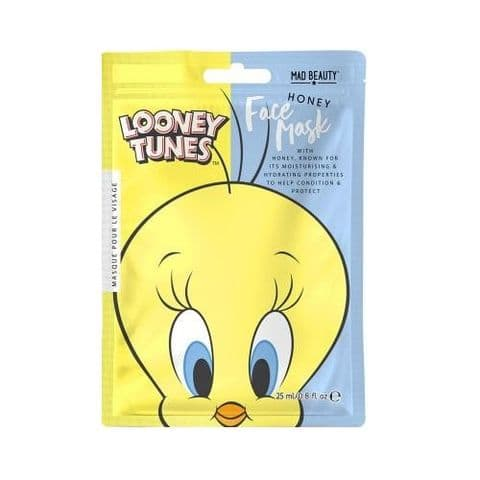 Tweety Pie Honey Scented Looney Tunes Sheet Face Mask Mad Beauty