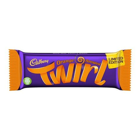 Twirl Orange Milk Chocolate Cadbury 43g