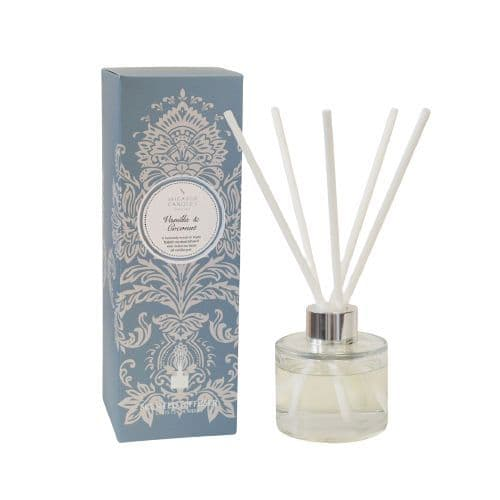 Vanilla & Coconut Scented Reed Diffuser 100ml - Shearer Candles