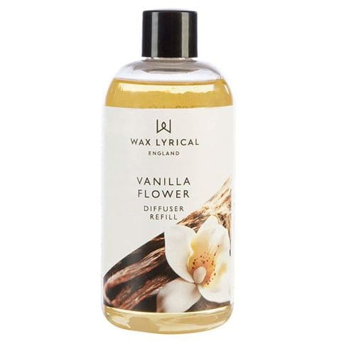 Vanilla Flower Fragranced Reed Diffuser Refill Made In England Wax Lyrical 200ml