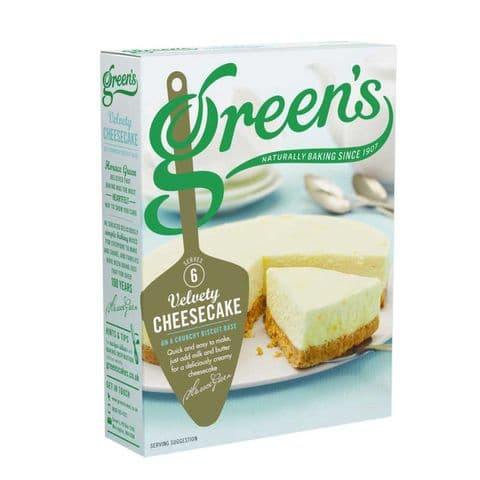 Velvety Cheesecake Mix Green's 259g