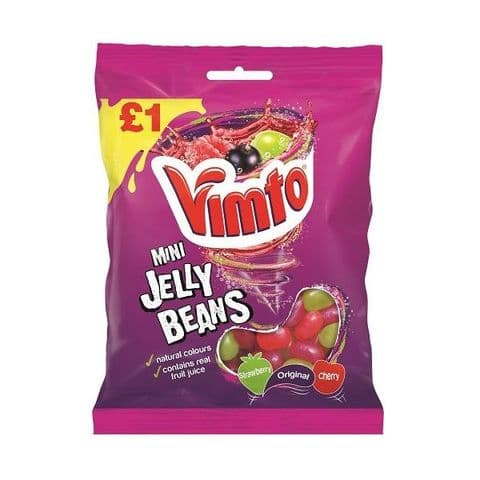 Vimto Mini Jelly Beans Tangerine Confectionery 160g