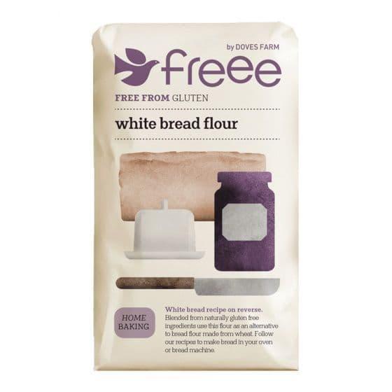 White Bread Flour Gluten Free Doves Farm 1kg