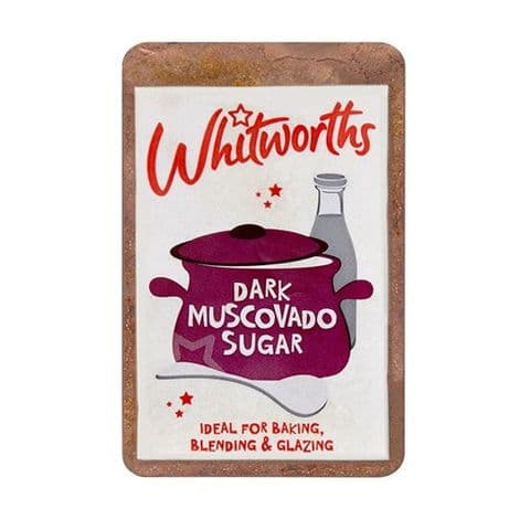 Whitworths Dark Muscovado Sugar 500g