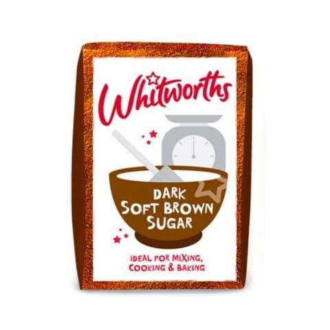 Whitworths Dark Soft Brown Sugar 500g