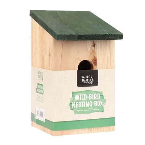 Wild Bird Nesting Box Nature's Market Kingfisher