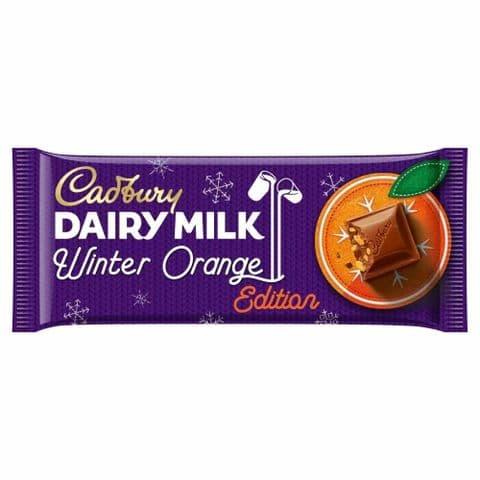 Winter Orange Edition Dairy Milk Chocolate Bar Cadbury 95g