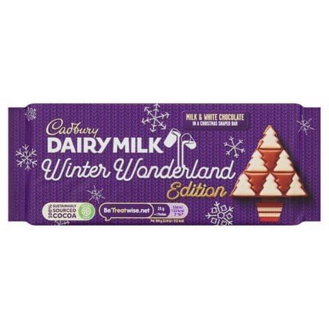 Winter Wonderland Edition Dairy Milk Chocolate Bar Cadbury 100g