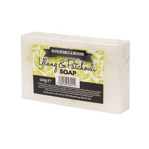 Ylang & Patchouli Glycerin Soap Slice - Bath Bubble & Beyond 120g