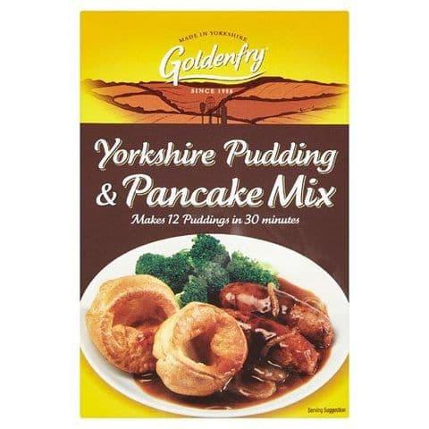 Yorkshire Pudding & Pancake Mix Goldenfry Box 142g