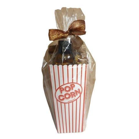 ZaraMama Popcorn Box Oil Gift Set (3 Popping Corns & Rapeseed Oil)