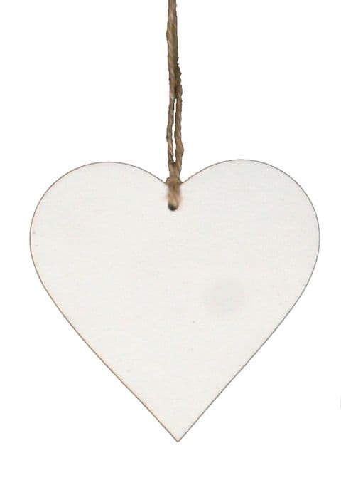 Heart Gift Tag Cream GTPHeart.70