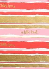 Little Treat Wrap Pink - FW263.00/10