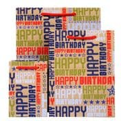 Sale - Hollywood Birthday Red Gift Bag - GBG187.100/20 - 50% OFF
