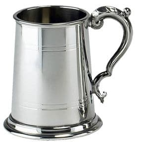 Commodore Pewter Tankard 1 Pint
