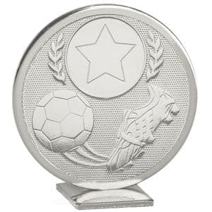 """Global Boot & Ball 60mm (2.35"""") Silver"""