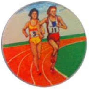 Running Track Female domed acrylic centre 5pcs