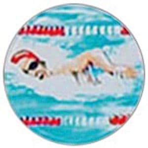 Swimming Male domed acrylic centre 5pcs