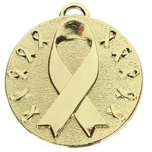 "Target Awareness Medal 50mm (2"") Gold"