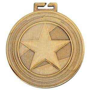 "Aura Large Star Medal 50mm (2"")"