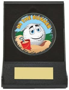 Black Case Golf Collectable - Bunker Dia 60mm