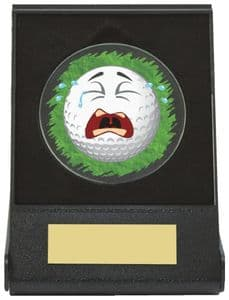 Black Case Golf Collectable - Crying Dia 60mm