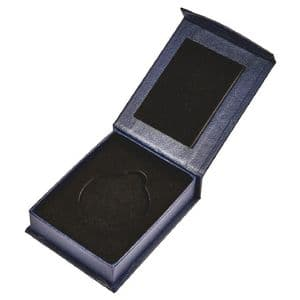 Blue Medal Case with Magnetic Fastening for 60mm Medal