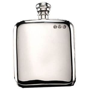 Campbell Classic Pewter Hip Flask 4oz