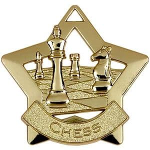 Chess Medal Gold 60mm