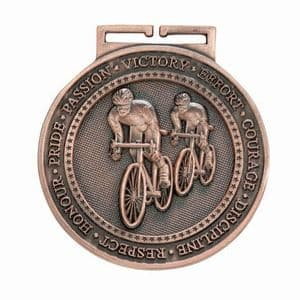 "Cycling Bronze  Olympia Medal 60mm (2.35"")"