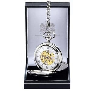 Double Full Hunter Pocket Watch