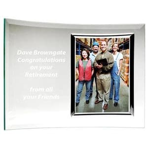 "Encore Crescent Photo Frame 7"" x 10"" for a 5"" x 3.5"" photo"