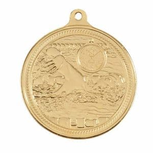 "Endurance Swimming Medal Gold 50mm (2"")"