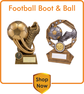 Football Boot & Ball Trophies