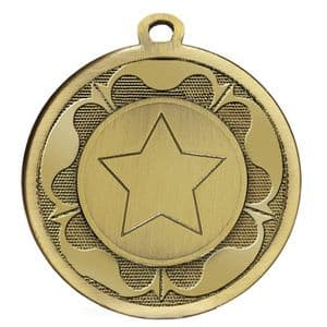 "Galaxy Rose 45mm (1.8"") Medal Bronze"