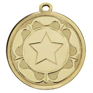 "Galaxy Rose 45mm (1.8"") Medal Gold"