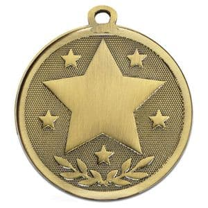 "Galaxy Star 45mm (1.8"") Medal Bronze"