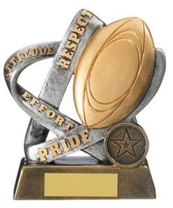 """Infinity Rugby Award 125mm (5"""")"""