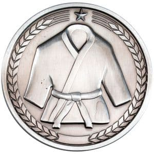 "Martial Arts 70mm (2.75"") Medallion Antique Silver"