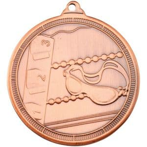 "Tristar Swimming Multi Line 50mm (2"") Medal Bronze"