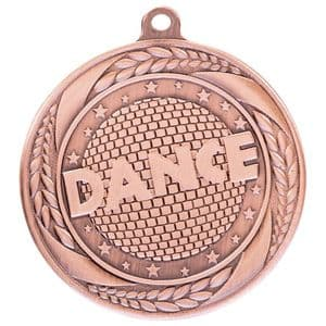"Typhoon Dance Medal Bronze 55mm (2.1"")"