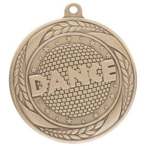 "Typhoon Dance Medal Gold 55mm (2.1"")"