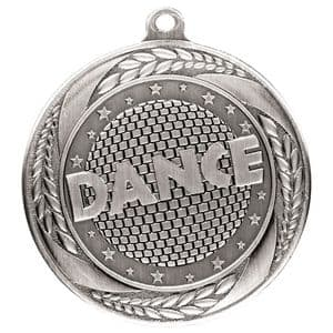 "Typhoon Dance Medal Silver 55mm (2.1"")"